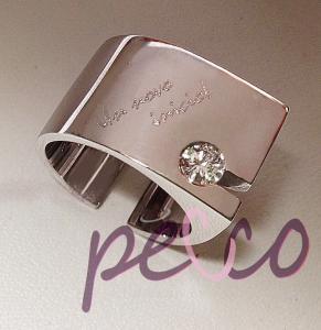 rediseño los anillos de bodas que hacer despues de la separacion con la argolla